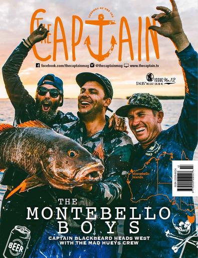 The Captain magazine cover