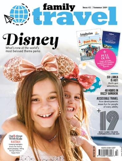 Family Travel magazine cover