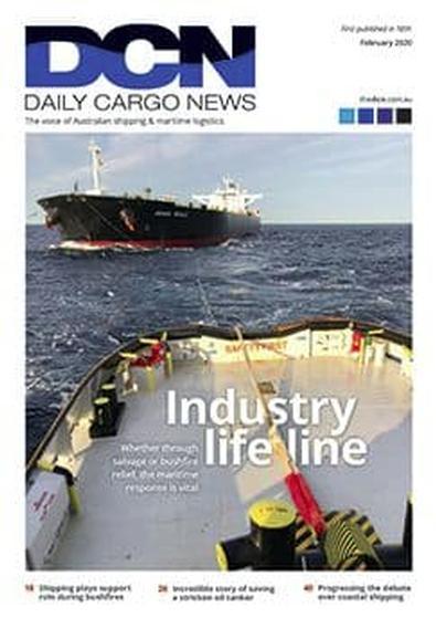 Daily Cargo News magazine cover