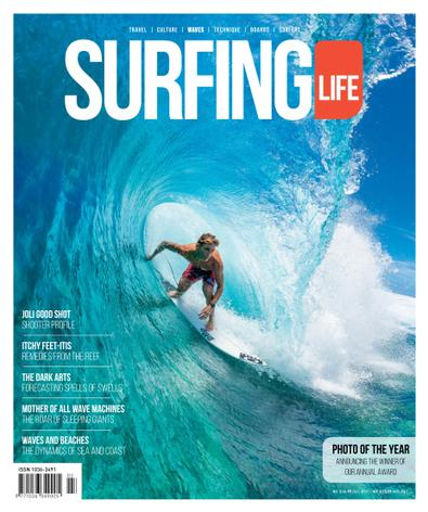 SURFING LIFE magazine cover