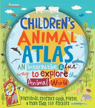 Australias Animal Atlas cover