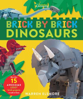 Brick by Brick - Dinosaurs cover