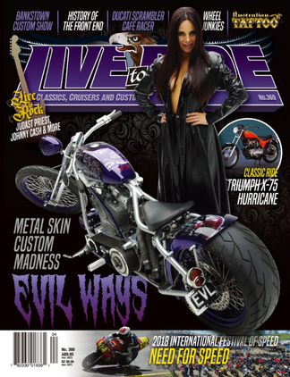 Live To Ride magazine cover