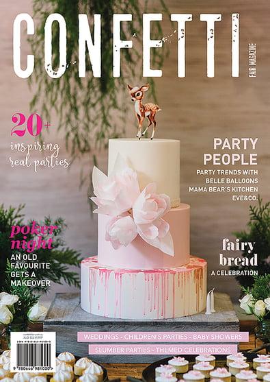 Confetti Fair Magazine cover
