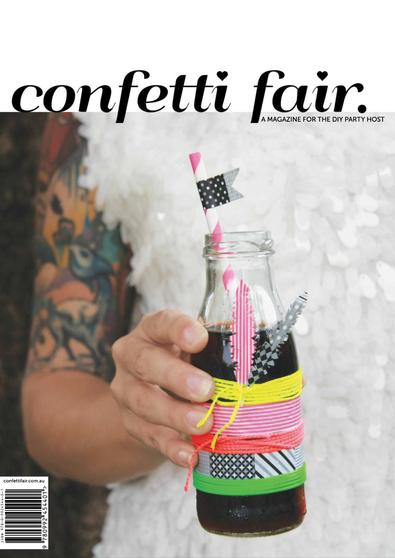 Confetti Fair Magazine 2013 cover
