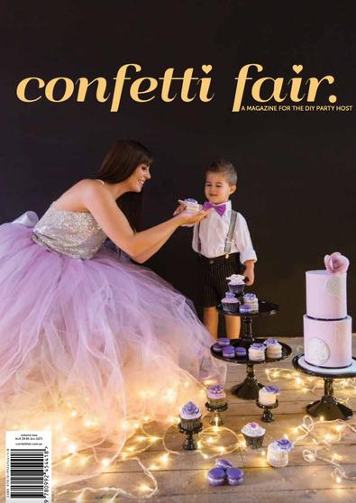 Confetti Fair Magazine 2014 cover