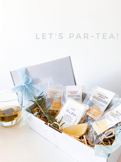 Tease With Tea Let's Par-tea! Box cover