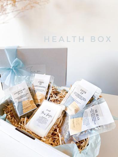Tease With Tea Health Box cover