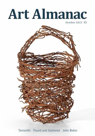 Art Almanac the Australian gallery guide magazine cover