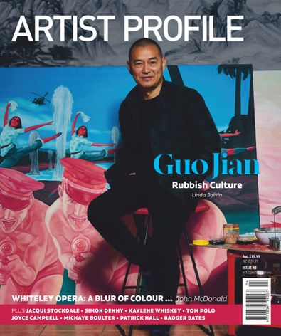 Artist Profile magazine cover