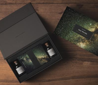 New Worlds Gin Gift Kit cover
