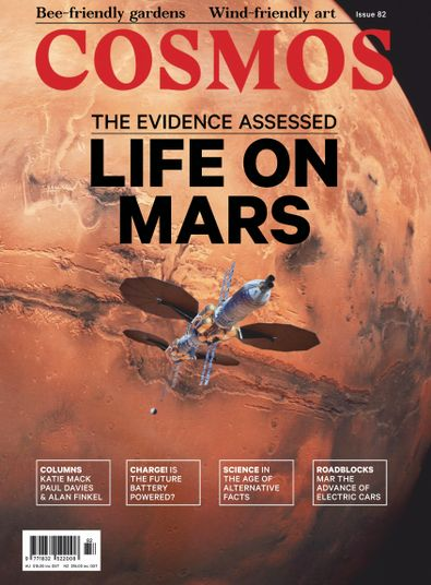Cosmos Magazine cover