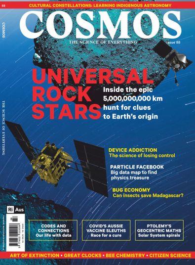 Cosmos Magazine cover