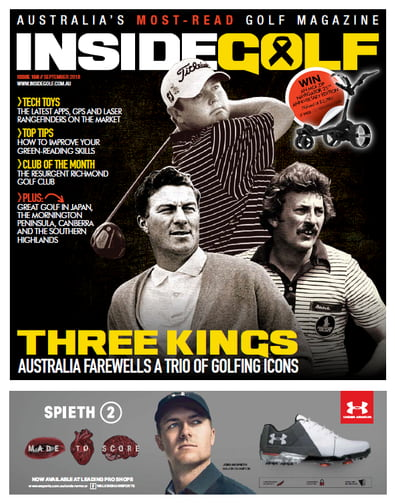 Inside Golf magazine cover