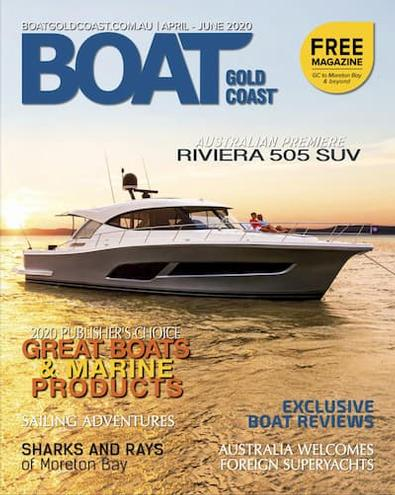 Boat Gold Coast magazine cover