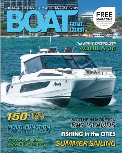 Boat Gold Coast magazine cover