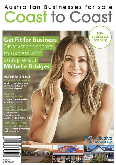 Coast to Coast Business Sales magazine cover
