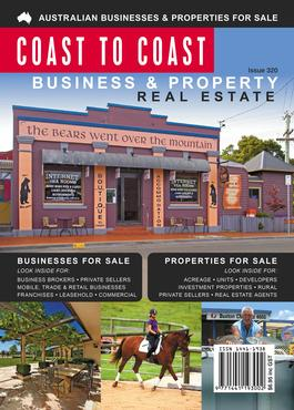 Coast to Coast Business & Property Advertiser magazine cover