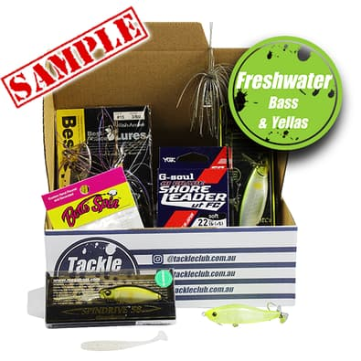 Tackle Club Bass & Yellowbelly Fishing Box cover