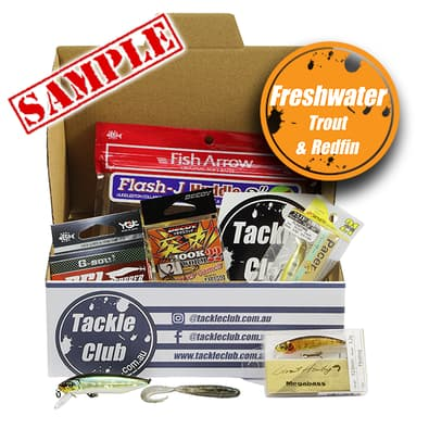 Tackle Club Freshwater Trout & Redfin Fishing Box cover