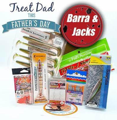 Tackle Club Barra and Jacks Fishing Box cover