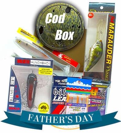 Tackle Club Cod Fishing Box cover