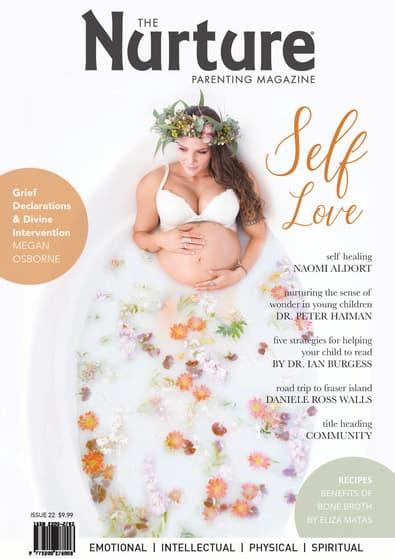 The Nurture Parenting Magazine cover