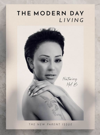 The Modern Day Living magazine cover