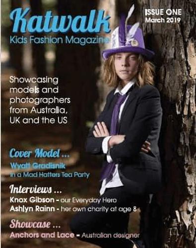 Katwalk Kids Fashion Magazine cover