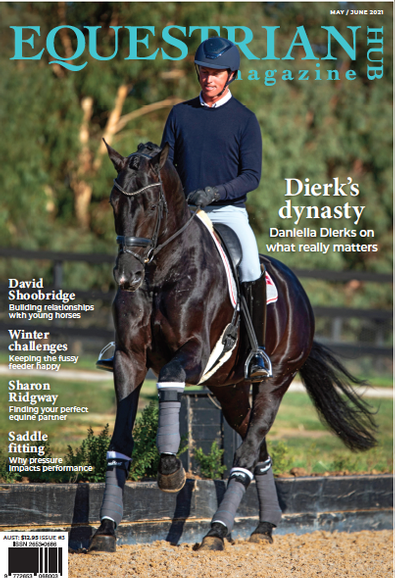 Equestrian Hub magazine cover