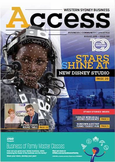 Western Sydney Business Access magazine cover