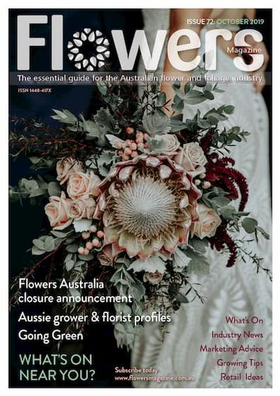 Flowers Magazine cover