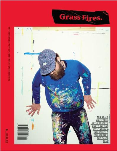 Grass Fires magazine cover