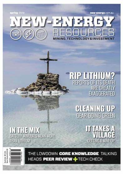 New-Energy Resources magazine cover