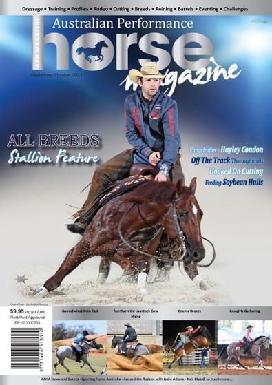 Australian Performance Horse Magazine cover