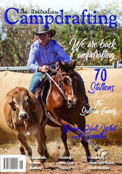 The Australian Campdrafting Magazine cover