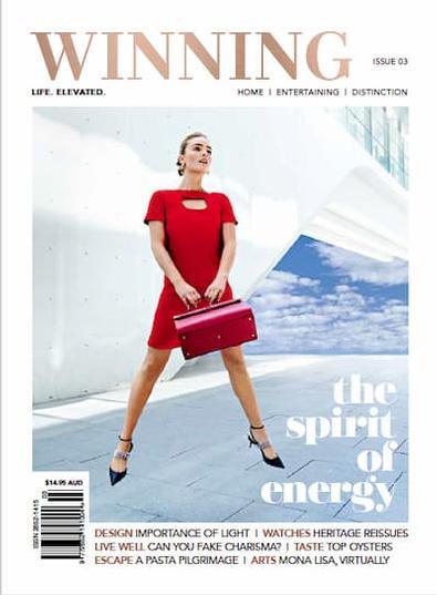 Winning Magazine cover