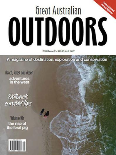 Great Australian Outdoors, 2nd Edition magazine cover