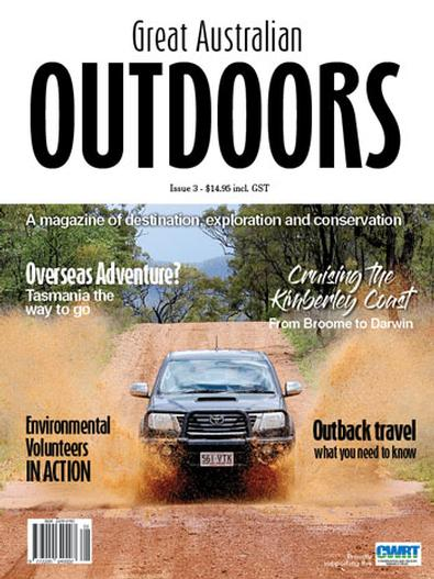 Great Australian Outdoors - 3rd Edition magazine cover