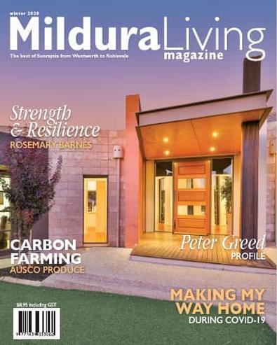 Mildura Living magazine cover