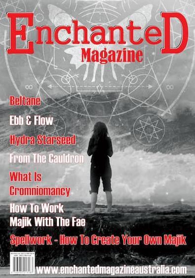 Enchanted magazine cover