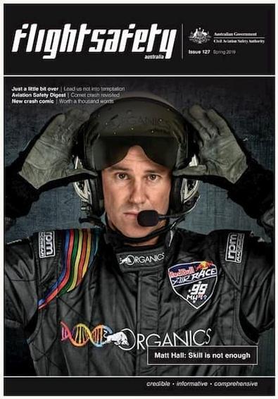 Flight Safety Australia magazine cover