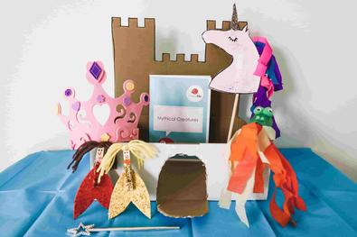 PeekyMe Mythical Creatures Craft Box cover