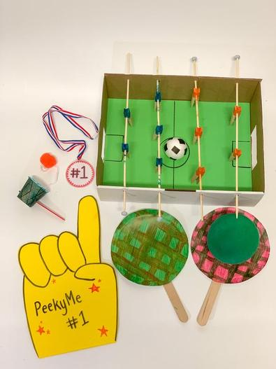 PeekyMe The Sports Craft Box cover
