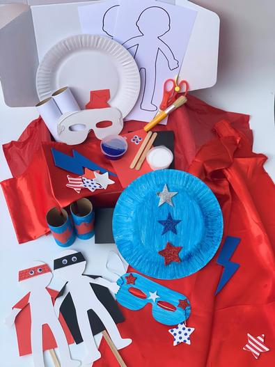 PeekyMe Superhero Craft Box cover