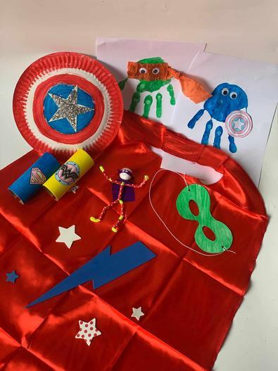 PeekyMe Junior Creators Superhero cover