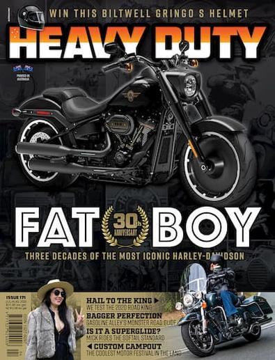 Heavy Duty magazine cover