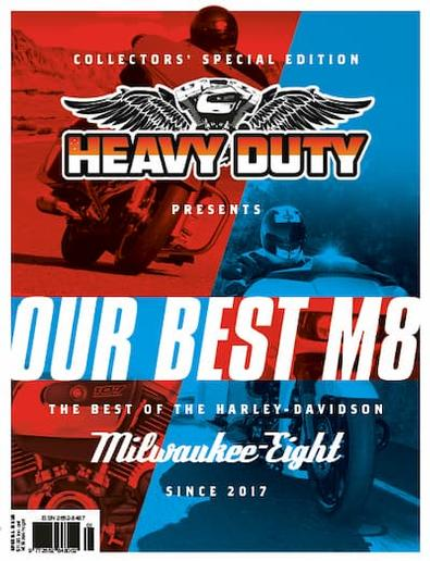 OUR BEST M8 magazine cover