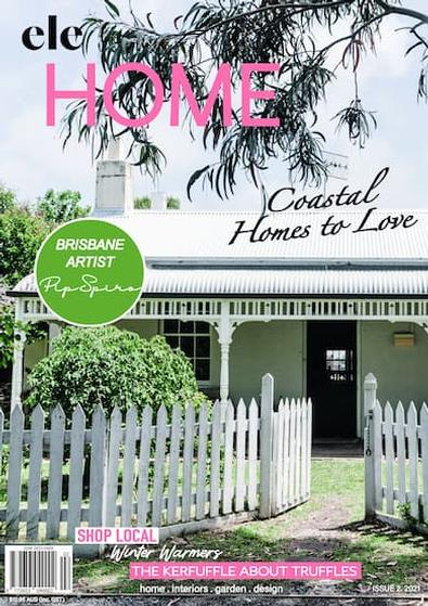 ele HOME magazine cover