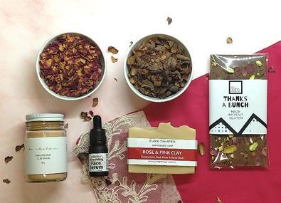 Tea Tasters Pamper Box cover